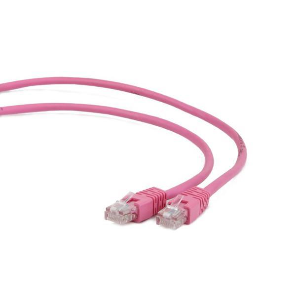 Przewód Kategoria 5e UTP iggual IGG310489 5 m Różowy