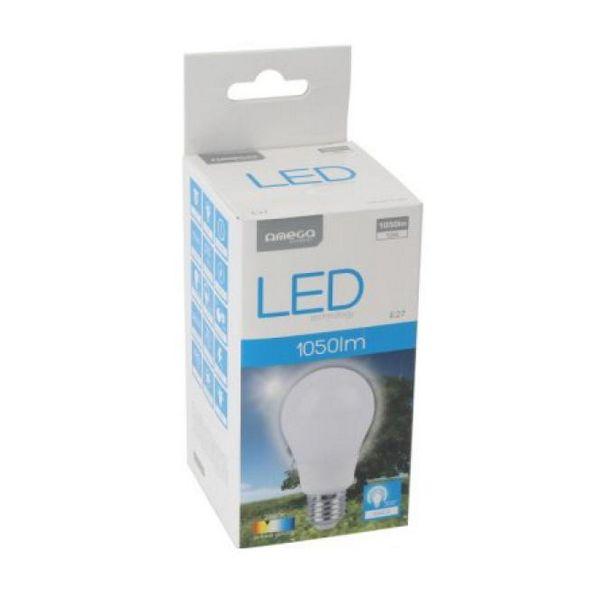 Sférická LED Žárovka Omega E27 12W 1050 lm 2800 K Teplé světlo