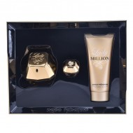 Souprava sdámským parfémem Lady Million Paco Rabanne (3 pcs)