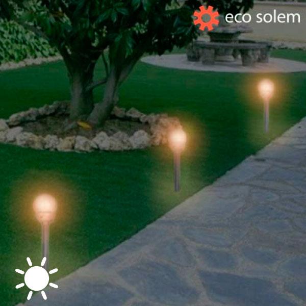 Solární Světlo Eco Solem