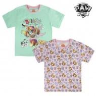 Koszulka z krótkim rękawem dla dzieci The Paw Patrol 6893 Różowy (rozmiar 3 lat)