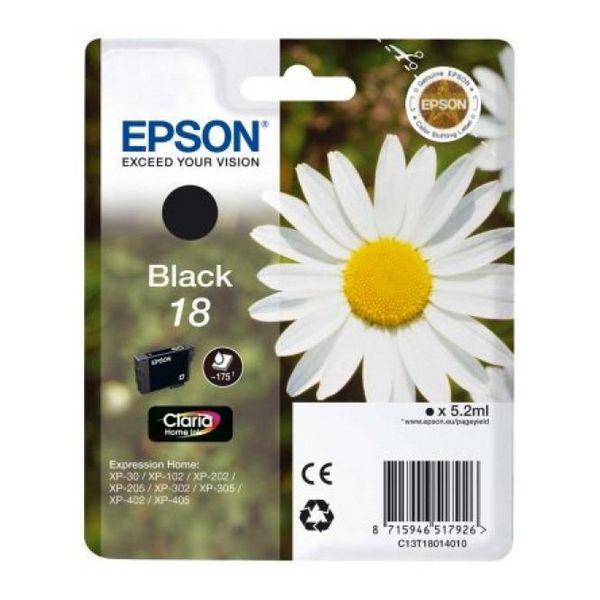 Originální inkoustové náplně Epson C13T18014010 Černý