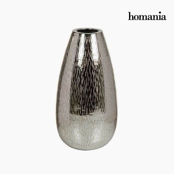 Wazon Srebrzysty - New York Kolekcja by Homania