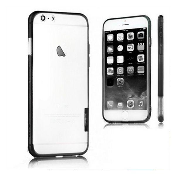 Dwukolorowy Zderzak Iphone 6 Plus X-ONE 110020 Czarny