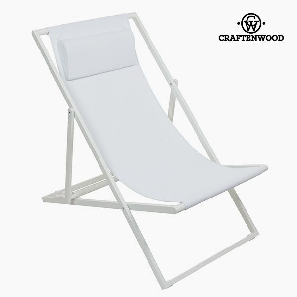 Garden chair Hliník Textilene Bílý by Craftenwood