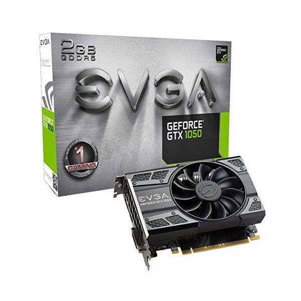 Herní grafická karta EVGA 02G-P4-6150-KR GTX 1050 ACX 2 GB DDR5
