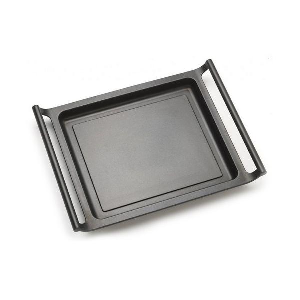 Flat grill plate BRA A271535 35 cm Černý
