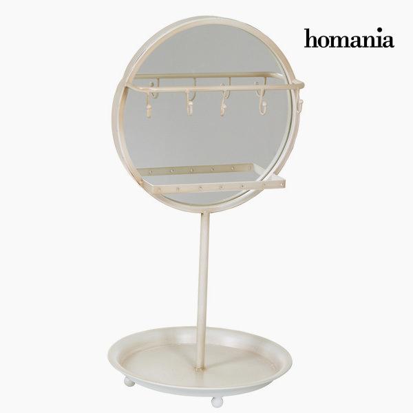 Biały lustrzany stół by Homania