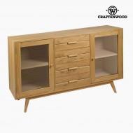 Příborník Dřevo mindi (150 x 40 x 89 cm) - Modern Kolekce by Craftenwood
