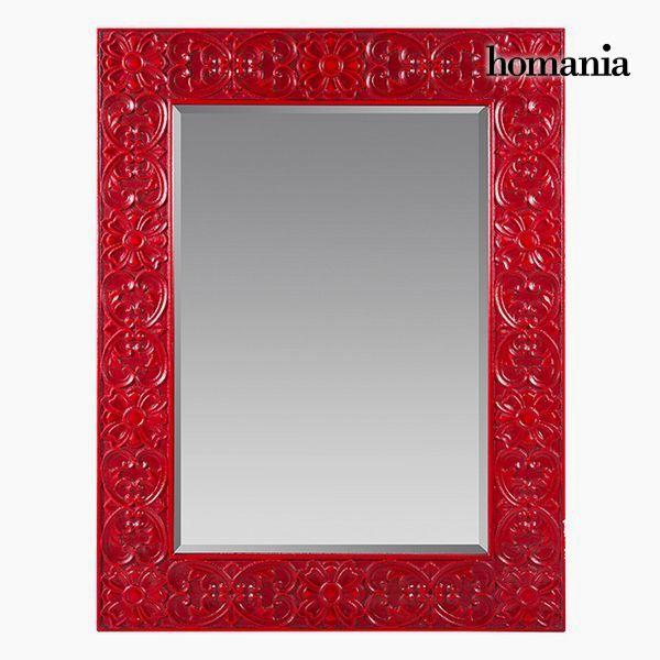 Lustro Kwadratowy Czerwony - Be Yourself Kolekcja by Homania