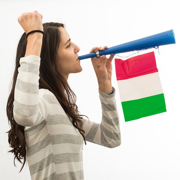 Trumpeta s Italskou Vlajkou