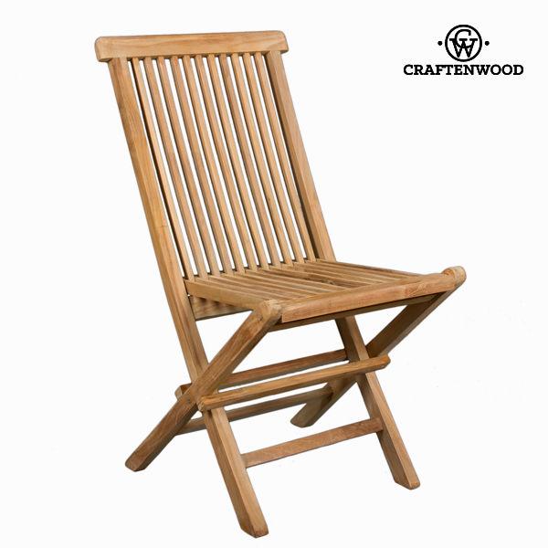 Skládací týková židle by Craftenwood
