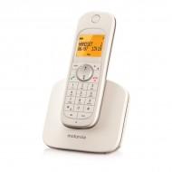 Telefon fără Fir Motorola D1001 DECT Alb