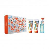 Souprava sdámským parfémem Cheap And Chic Love Love Moschino (3 pcs)
