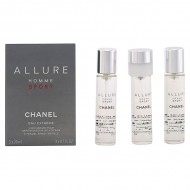 Souprava spánským parfémem Allure Homme Sport Chanel (3 pcs)