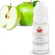 Náplne do E-cigariet - Jablková, Bez nikotínu