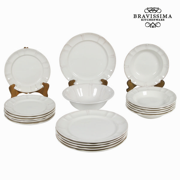 Posuđe za jelo Keramički pribor za jelo (19 pcs) - Kitchen's Deco Kolekce by Bravissima Kitchen