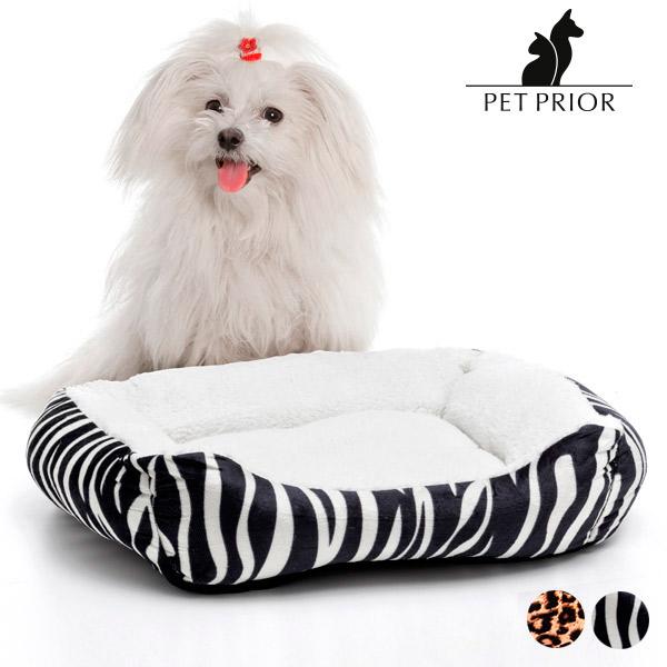 Pelíšek pro Psy Pet Prior (55 x 45 cm) - Zebra