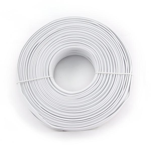 Telefonní Kabel Čtyřžilový iggual IGG309636 100 m Bílý