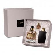 Souprava spánským parfémem Uomo Valentino (3 pcs)