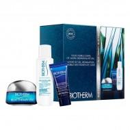 Souprava sdámskou kosmetikou Blue Therapy Eye Cream Biotherm (3 pcs)