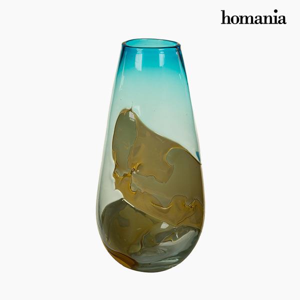 Wazon Szkło (18 x 18 x 38 cm) - Pure Crystal Deco Kolekcja by Homania