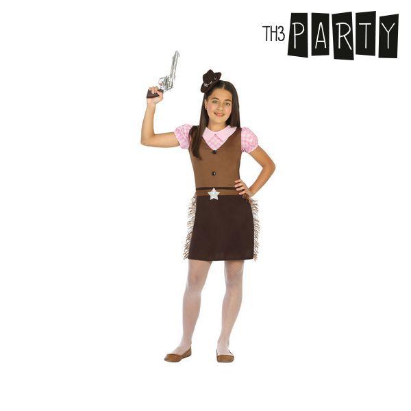 Kostým pro děti Th3 Party Žena kovboj - 10–12 roků