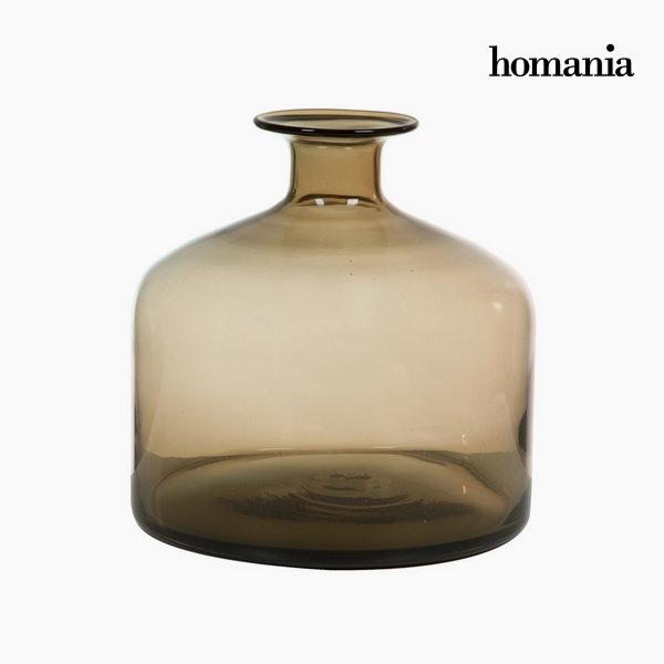 Wazon Szkło Brązowy (23,5 x 23,5 x 24 cm) by Homania