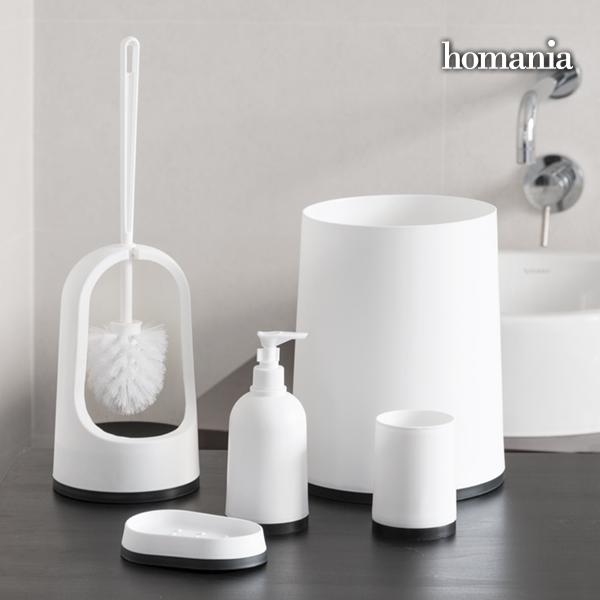 Akcesoria Łazienkowe Black & White Homania (5 części)