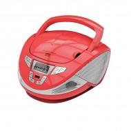Rádio s CD BRIGMTON W-440 USB Červený