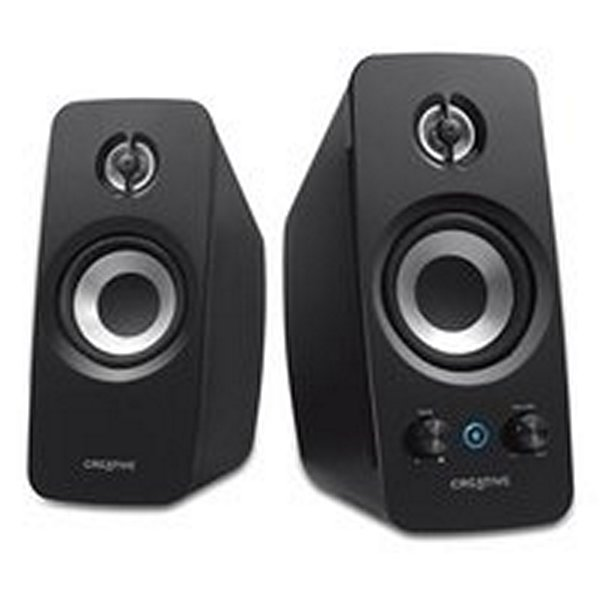 Głośniki Komputerowe Creative Technology T15F-51MF1670AA000 2.0 Bluetooth BasXPort Wireless Czarny