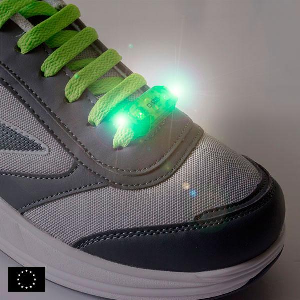 GoFit Lampka Bezpieczeństwa LED do Sznurówek (2 w zestawie)