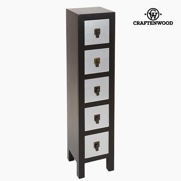 Prádelník Mdf (25 x 24 x 108 cm) - Modern Kolekce by Craftenwood
