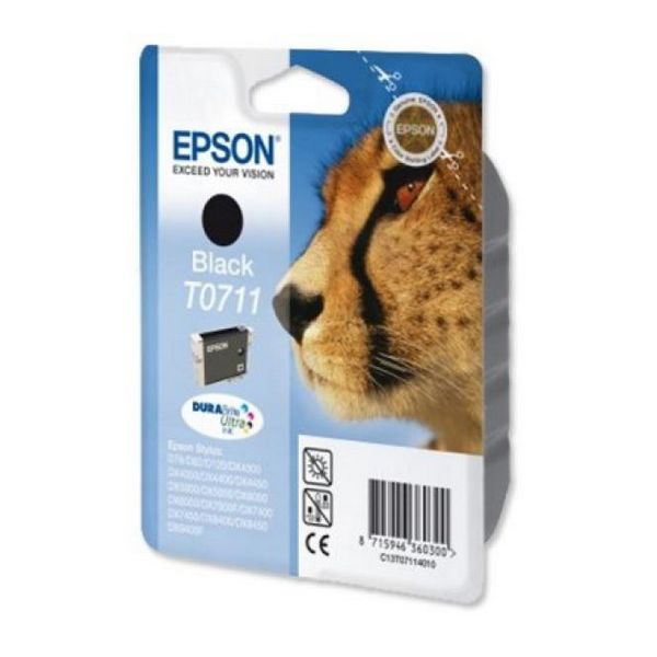 Originální inkoustové náplně Epson C13T071140 Černý