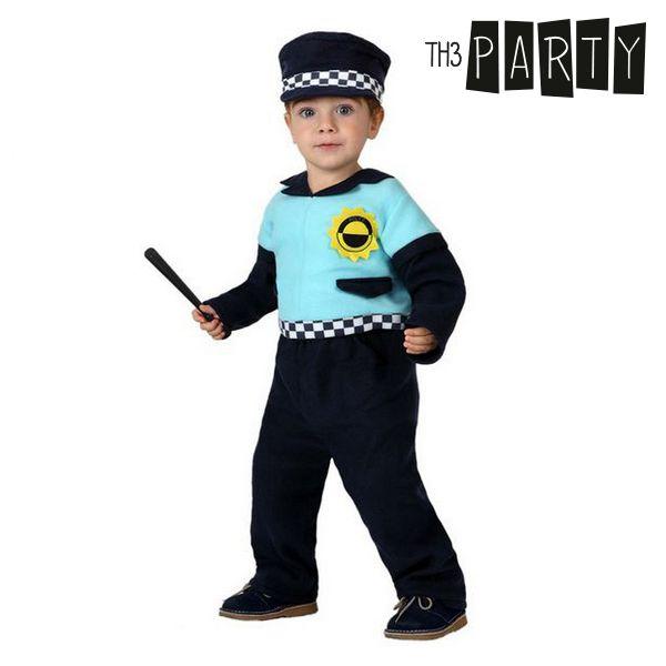 Kostium dla Niemowląt Th3 Party Policja - 0-6 miesięcy