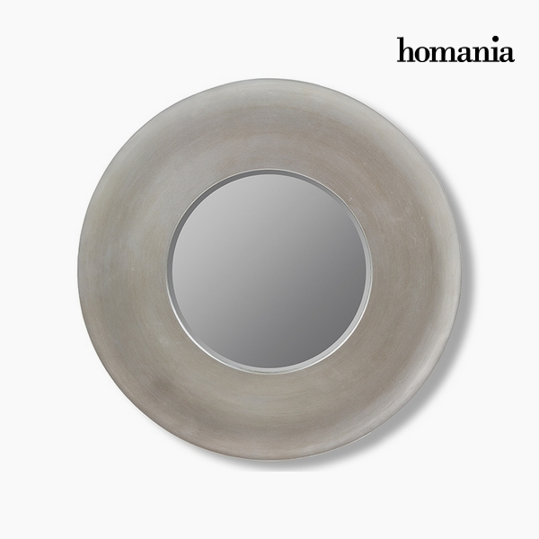 Lustro Żywica syntetyczna Szkło fazowane Srebro (108 x 8 x 108 cm) by Homania