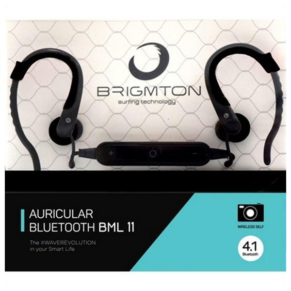 Słuchawki z Mikrofonem BRIGMTON BML-11-N Bluetooth Czarny