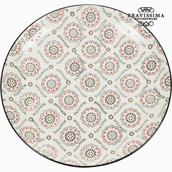 Flat plate Porcelana - Kitchen's Deco Kolekcja by Bravissima Kitchen