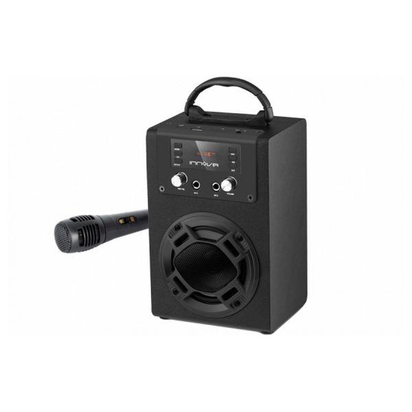 Věžový reproduktor Innova TW/BK6 800 mAh Bluetooth 5W Černý
