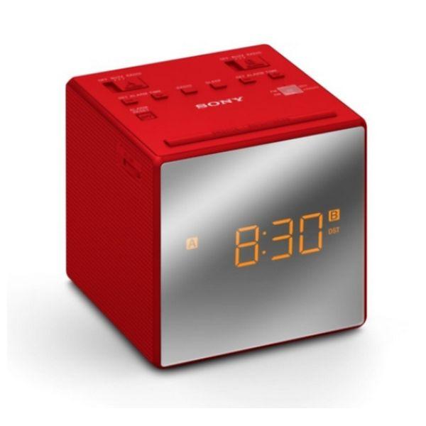 Zegar z Radiem Sony ICFC1TR Czerwony