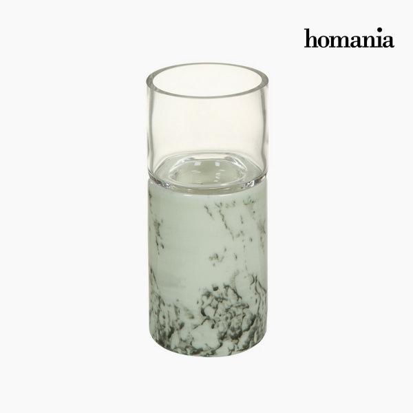 Biały ceramiczny świecznik by Homania