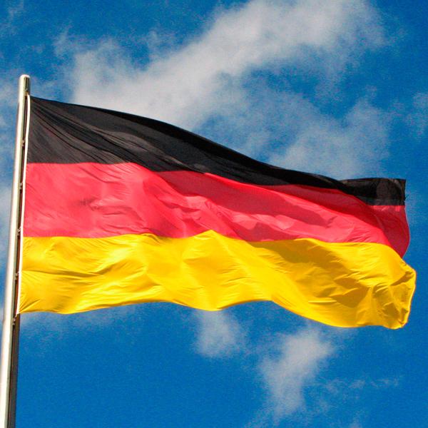 Flaga Niemiec (150 x 90 cm)