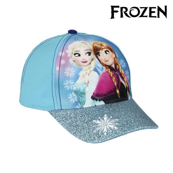 Klobouček pro děti Frozen 8129 (54 cm) Světle modrý