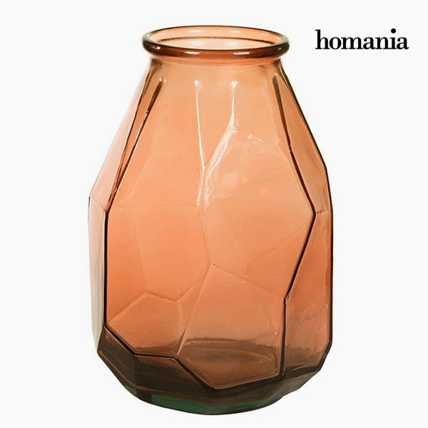 Vase made from recycled glass (25 x 25 x 35 cm) - Pure Crystal Deco Kolekce by Homania