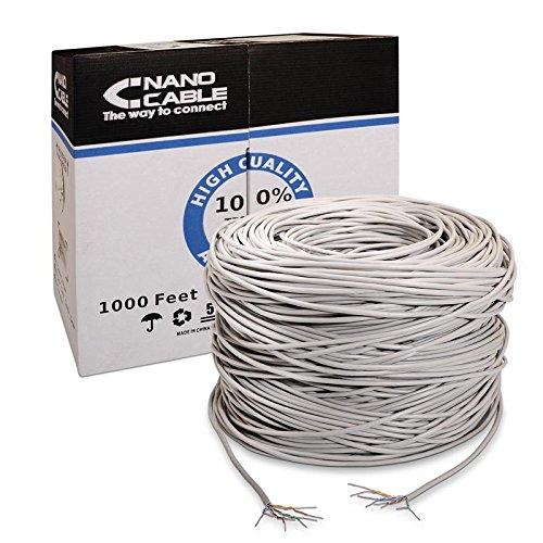 Síťový kabel UTP kategorie 5e NANOCABLE ANEAHE0087 305 m
