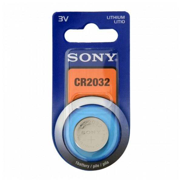 Knoflíková lithiová baterie Sony CR2032B1A 3 V 220 mAh Šedý