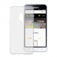 Pouzdro na mobily Samsung Galaxy J3 2017 Flex TPU Ultratenký Transparentní