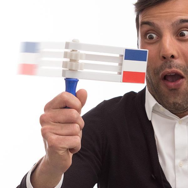 Řehtačka s Francouzskou Vlajkou