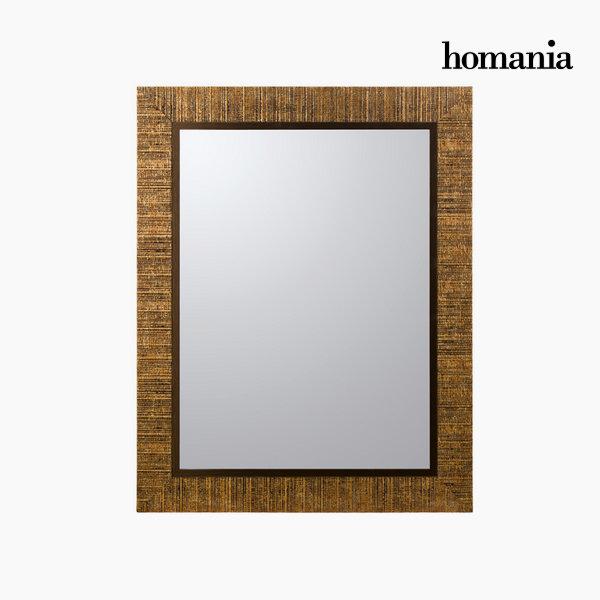 Zrcadlo ve zlatém rámu by Homania