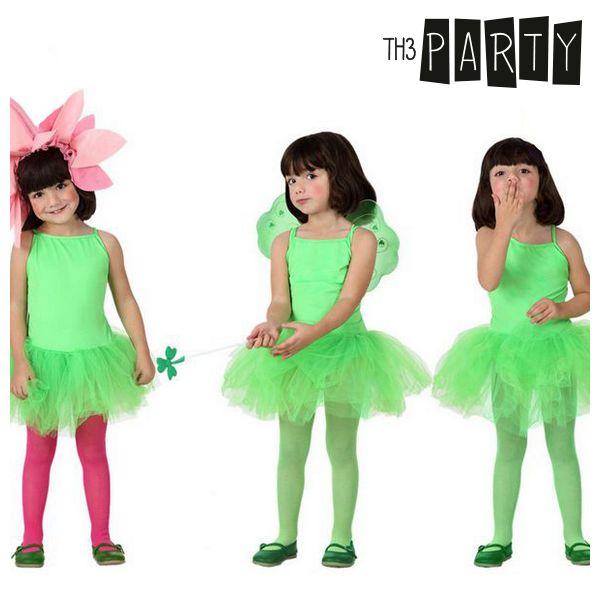 Kostium dla Dzieci Th3 Party Tancerka Kolor zielony - 7-9 lat
